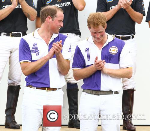 Prince Harry and Prince William 11