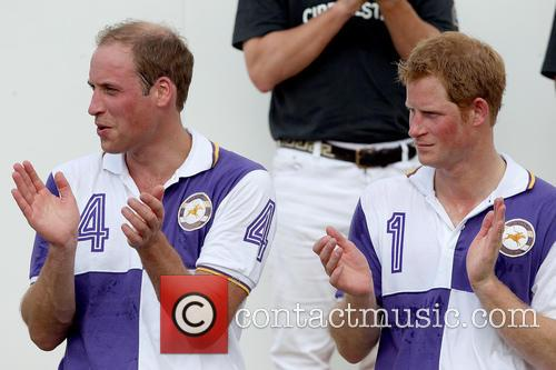 Prince Harry and Prince William 12