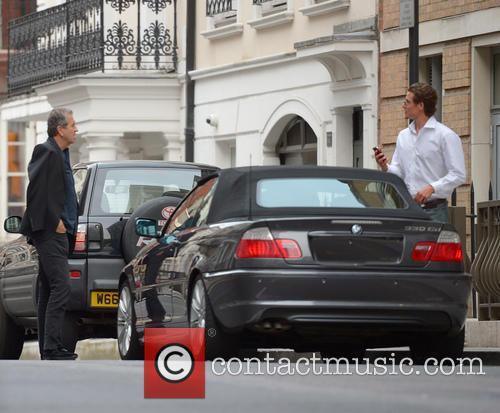 Mario Testino Arrives At The Dorchester