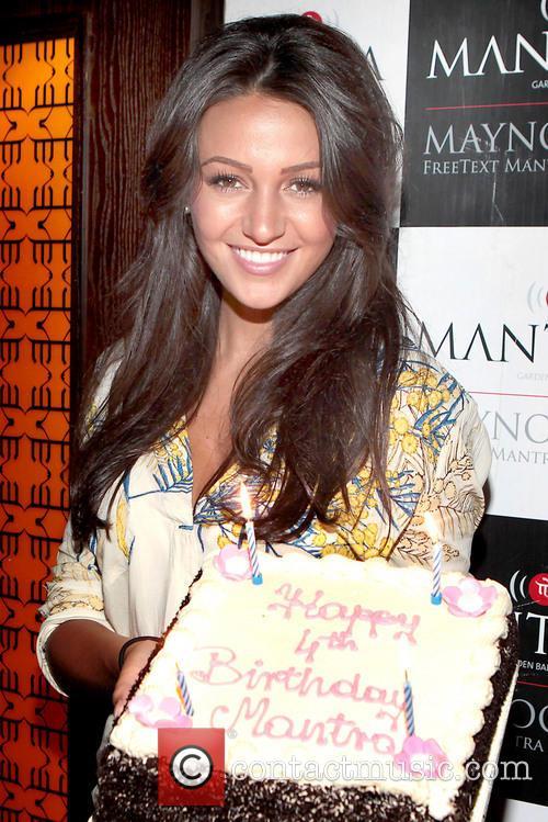 Michelle Keegan celebrates Mantra Nightclub's 4th birthday