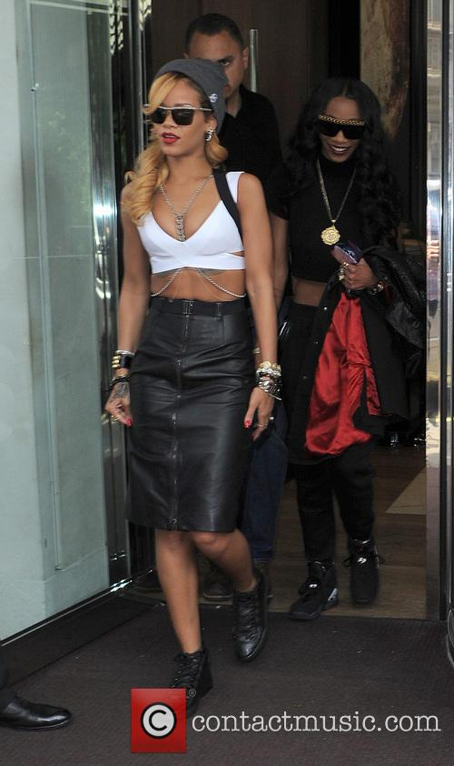 Rihanna and Melissa Forde 5