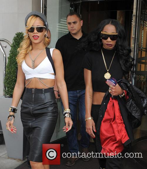 Rihanna and Melissa Forde 1
