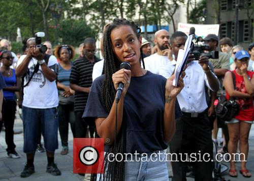 Solange Knowles Protest
