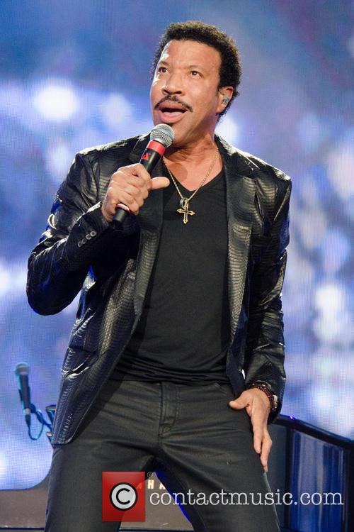 Lionel Richie performing at Hyde Park in July 2013