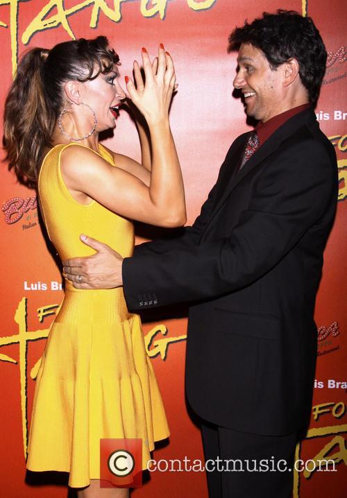 Karina Smirnoff and Ralph Macchio 2