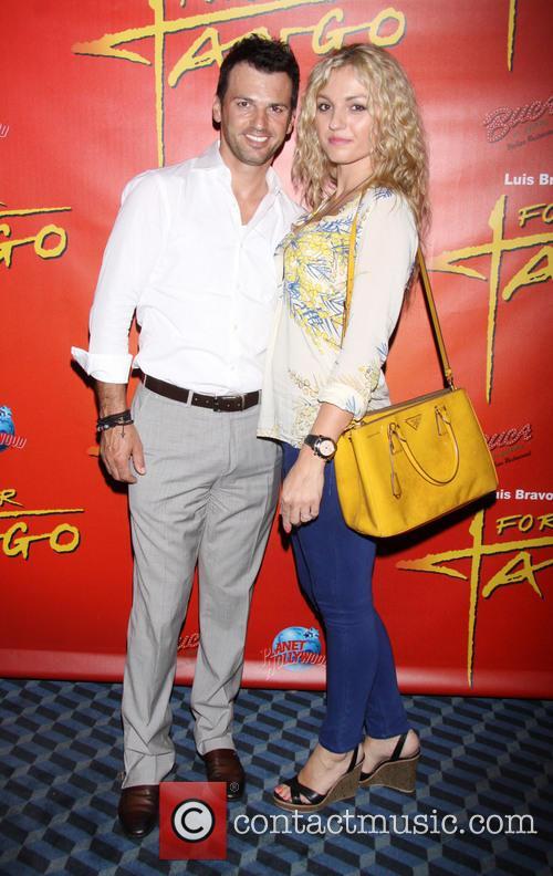 Tony Dovolani and Lina Dovolani 1