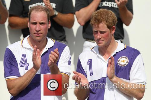 Prince Harry and Prince William 14