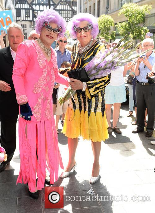 Dame Edna Everage and Barry Humphries 5