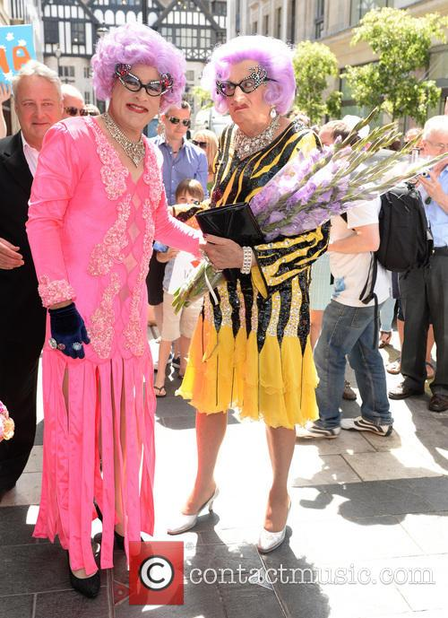 Dame Edna Everage and Barry Humphries 6