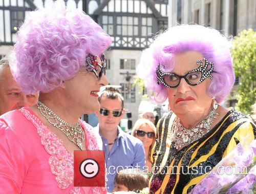 Dame Edna Everage and Barry Humphries 9