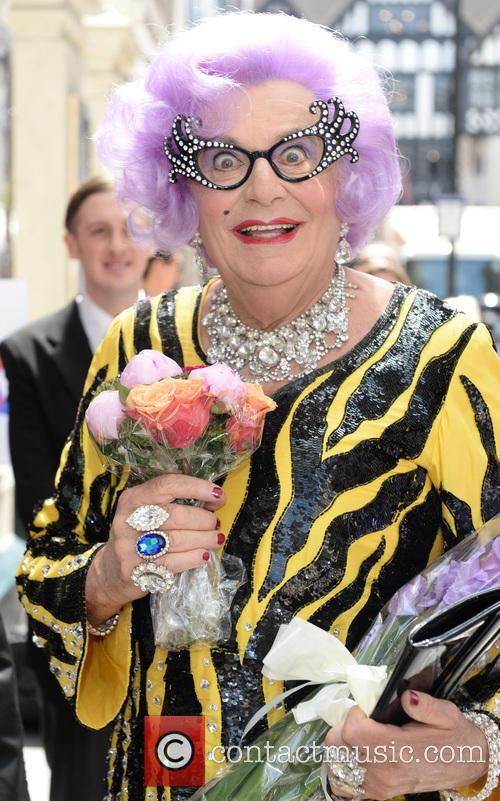 Dame Edna Everage and Barry Humphries 10