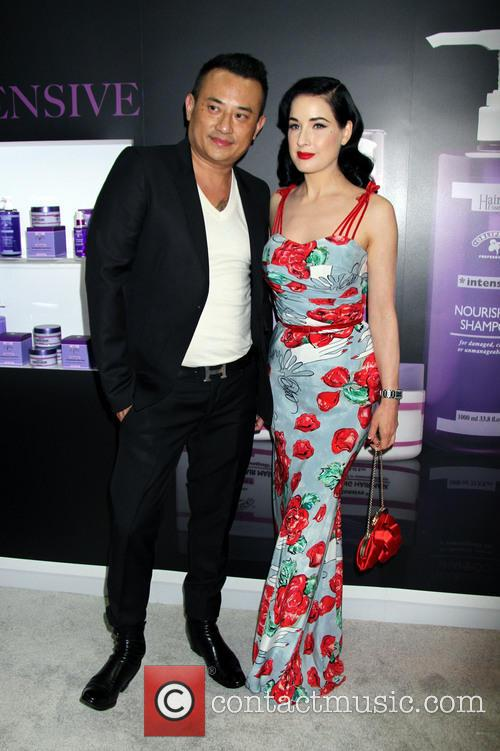 Dita Von Teese and John Blaine 6