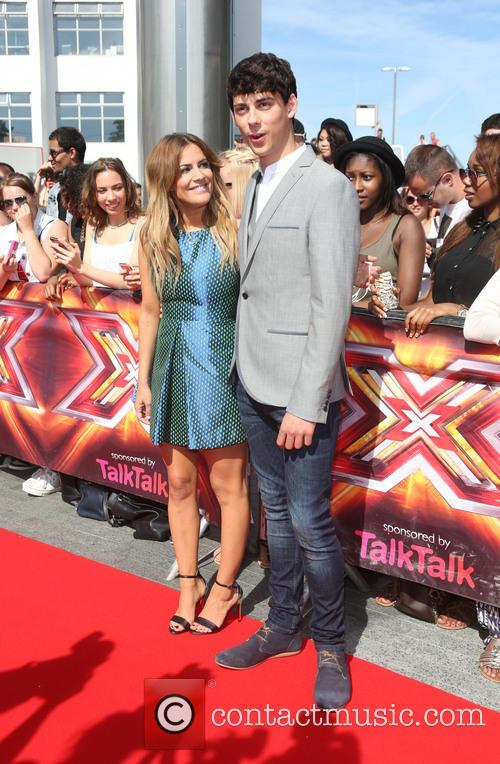 Caroline Flack and Matt Richardson 11