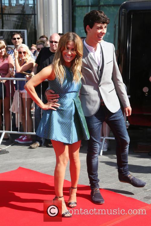 Caroline Flack and Matt Richardson 5
