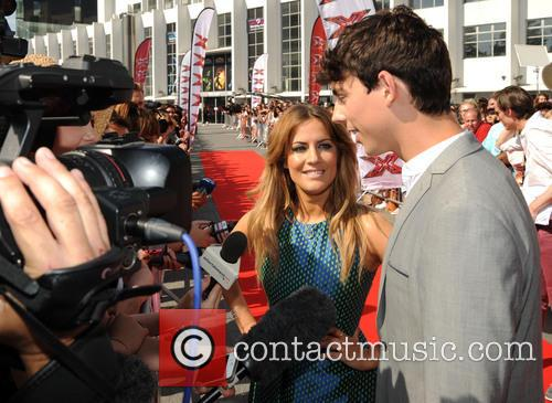 Caroline Flack and Matt Richardson 1