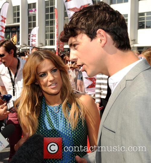 Caroline Flack, Matt Richardson, The X Factor, Wembley Arena