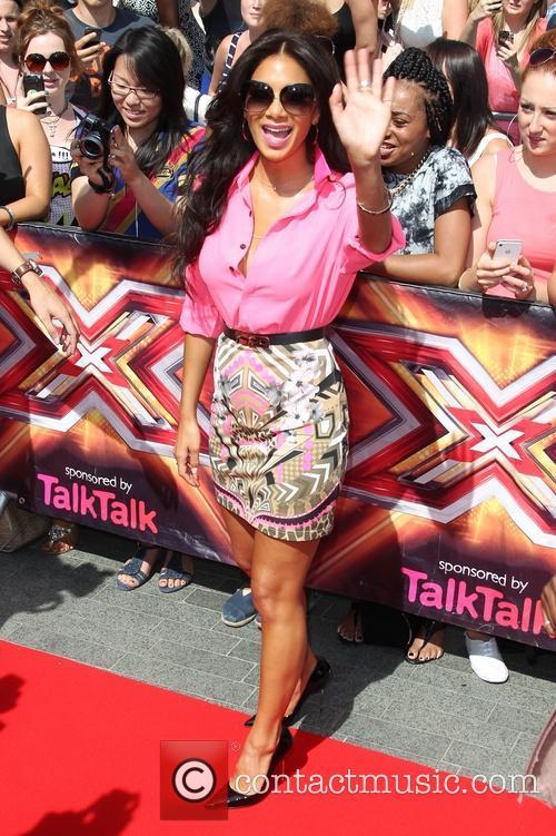 Nicole Scherzinger, wembley, The X Factor
