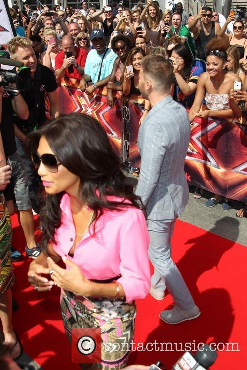 Gary Barlow, Nicole Scherzinger, wembley, The X Factor, Wembley Arena