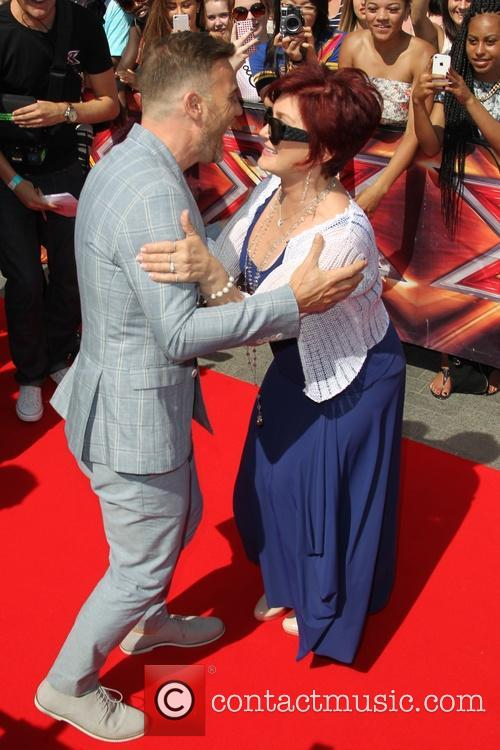 Gary Barlow and Sharon Osbourne 6