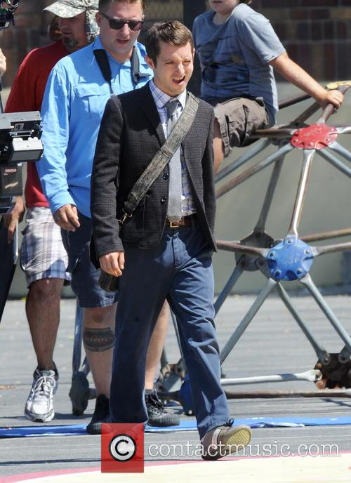 Elijah Wood Filming Cooties