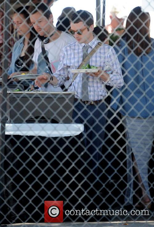 Elijah Wood Filming Cooties
