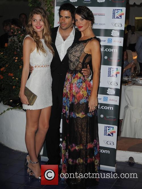 Camila Morrone, Eli Roth and Lucila Sola 1