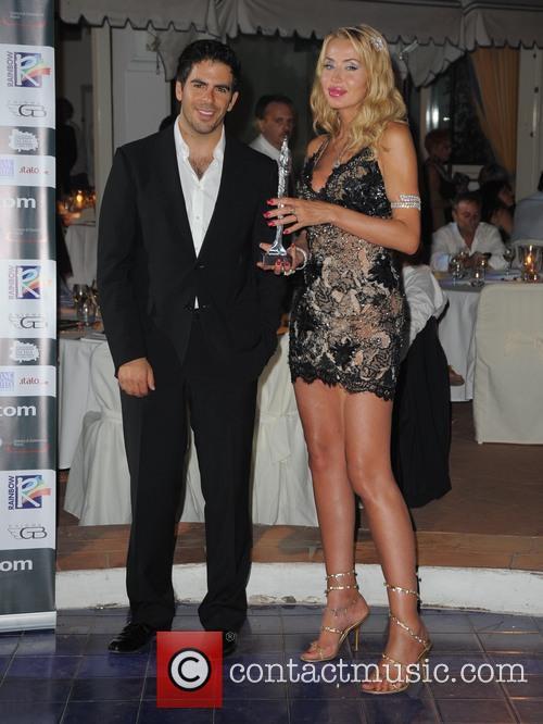 Eli Roth and Valeria Marini 7