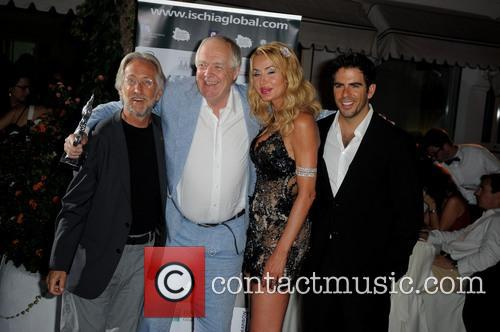 Neil Portnow, Sir Tim Rice, Valeria Marini and Eli Roth 2