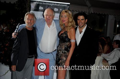 Neil Portnow, Sir Tim Rice, Valeria Marini and Eli Roth 1