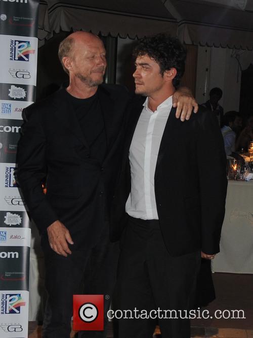 Riccardo Scamarcio and Paul Haggis 2
