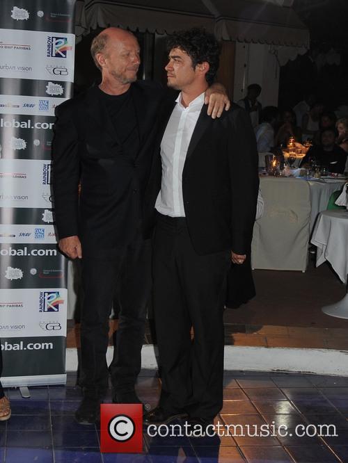 Riccardo Scamarcio and Paul Haggis 6