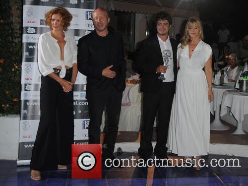 Rovere, Riccardo Scamarcio, Paul Haggis and Nastassja Kinski