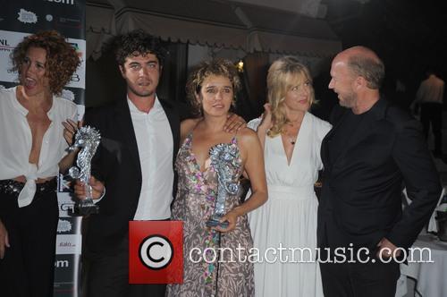 Valeria Golino, Lucrezia Rovere, Riccardo Scamarcio and Paul Haggis Nastassja Kinski 3