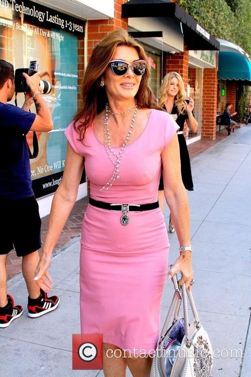 Lisa Vanderpump At Beverly Hills Nails