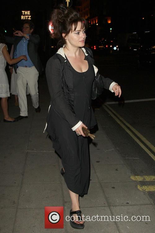 Helena Bonham Carter seen at the Wolsley restaurant