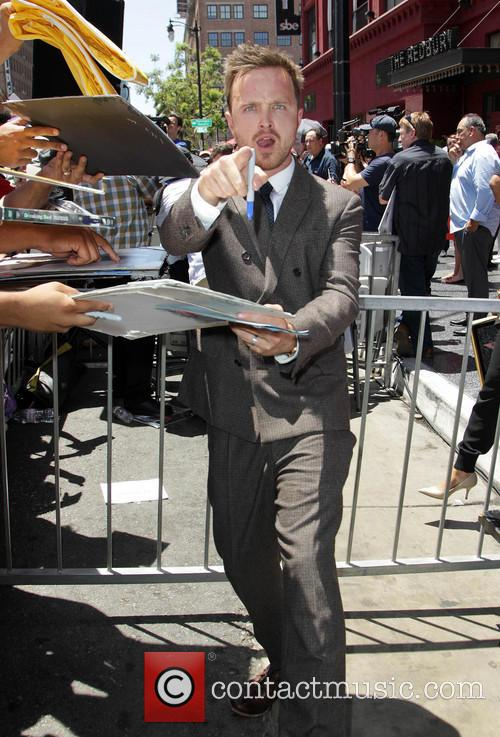Aaron Paul, On The Hollywood Walk Of Fame, Walk Of Fame