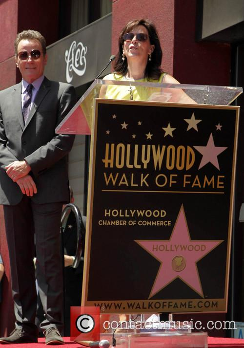 Bryan Cranston, Jane Kaczmarek, On The Hollywood Walk Of Fame, Walk Of Fame
