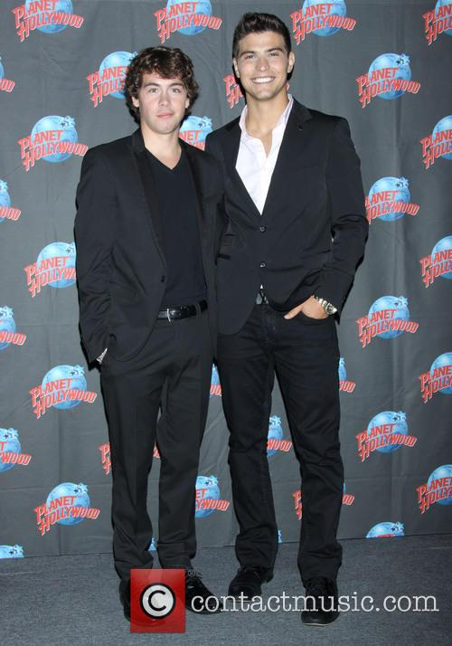 Luke Bilyk and Munro Chambers from Degrassi at...