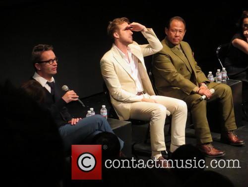 Nicolas Winding Refn, Ryan Gosling and Vithaya Pansringarm 7