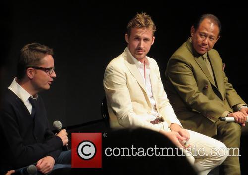 Nicolas Winding Refn, Ryan Gosling and Vithaya Pansringarm 8