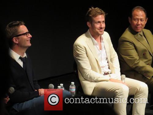 Nicolas Winding Refn, Ryan Gosling and Vithaya Pansringarm 9