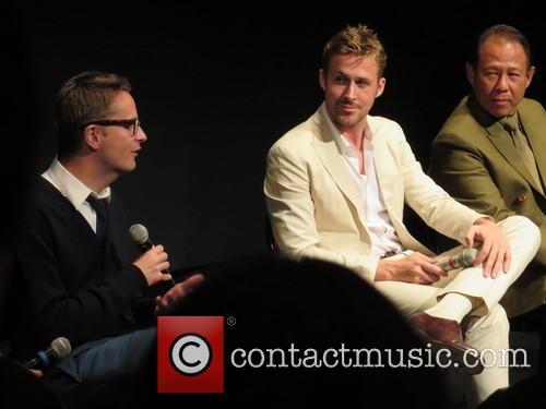 Nicolas Winding Refn, Ryan Gosling and Vithaya Pansringarm 11