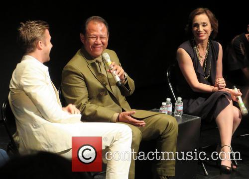 Ryan Gosling, Vithaya Pansringarm and Kristin Scott Thomas 1
