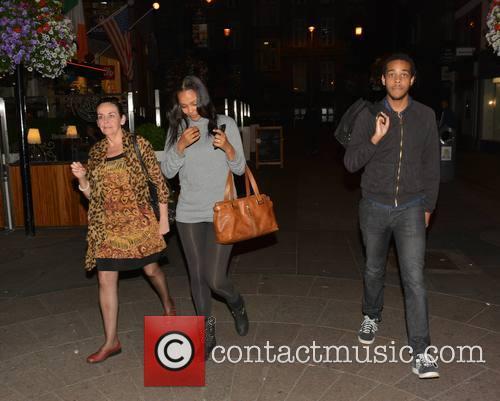 Samantha Mumba, Barbara Mumba and Omero Mumba 4