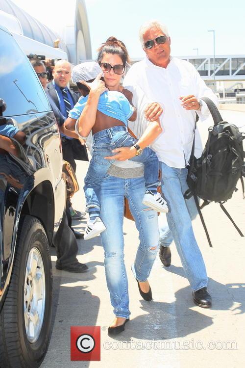 Sandra Bullock, LAX Airport