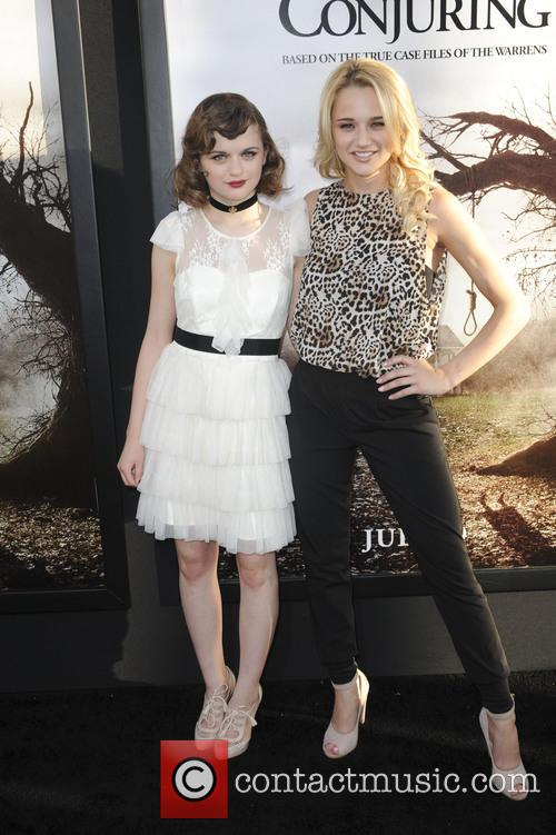Haley King and Joey King 2