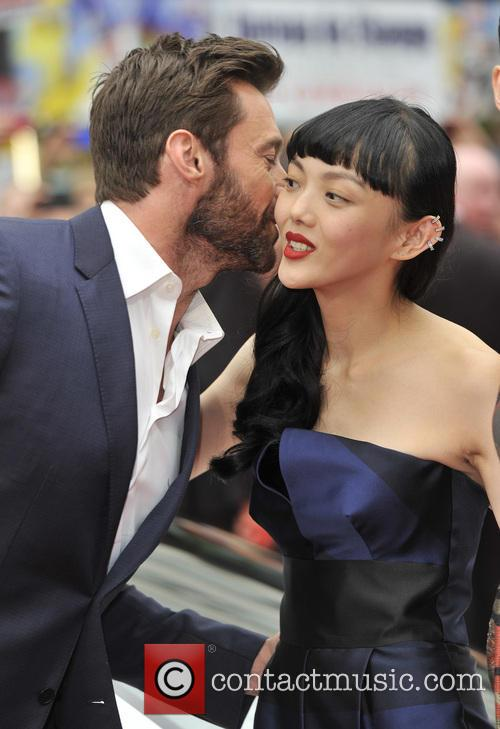 Hugh Jackman and Rila Fukushima 5