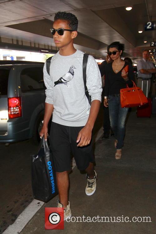 Jermaine Jackson, Jaafar Jeremiah Jackson, Halima Rashid, LAX Airport