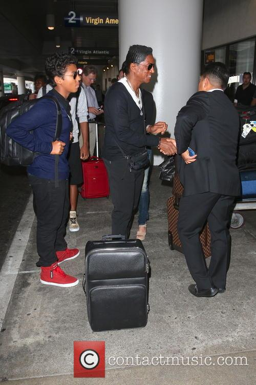 Jermaine Jackson and Jermajesty Jackson 11