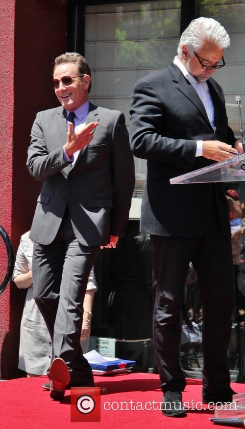 John O'hurley and Bryan Cranston 8